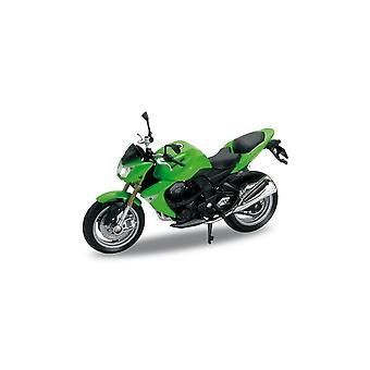 Welly Model  '07 Kawasaki Z 1000  Motorbike  1:18