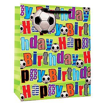 Simon Elvin Fotball Design Happy Birthday Gift Bags (Pack Of 6)