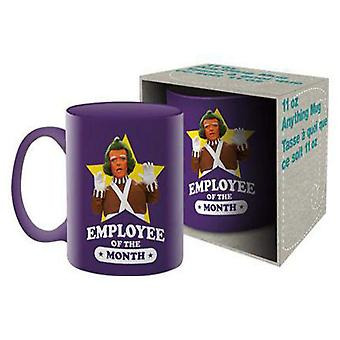 Willy Wonka Employee of the Month Ceramic Mug