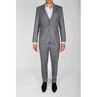 Classic curved cut suit