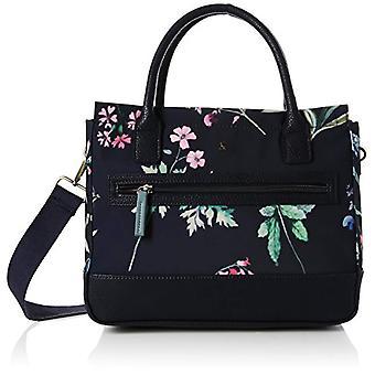 Joules Day To Canvas - Blue Women's Shoulder Bags (Navy Botanical) 16x26x31 cm (W x H L)