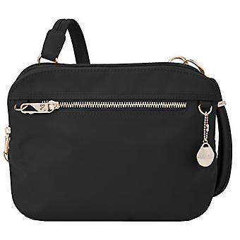 Travelon Women's Anti-Theft Tailored E/w Organizer Travel, Onyx, Size One Size