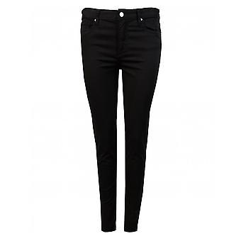 Armani Exchange Sateen abgeschnitten Jeans