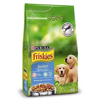 Friskies Hund Junior Kylling (Hunde, Hundemad, Tør mad)