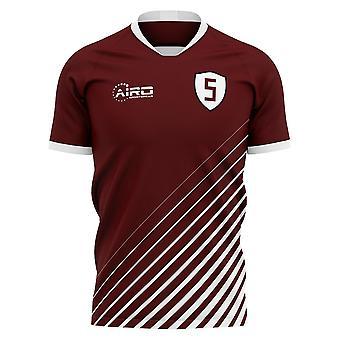 2020-2021 FK سراييفو المنزل مفهوم قميص كرة القدم