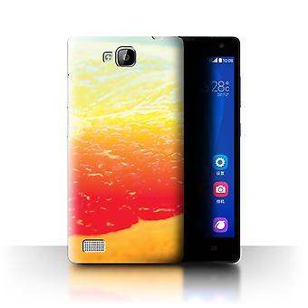 STUFF4 Fall/Abdeckung für Huawei Ascend G620/Grapefruit/Fruit/Vivid Ombre