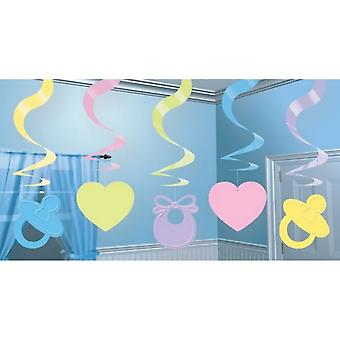 Amscan Baby Shower Swirl Decoration