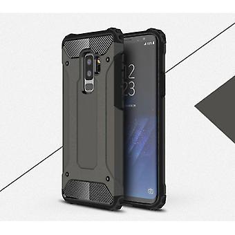 Stuff Certified® Samsung Galaxy S6 Edge - Armor Case Cover Cas TPU Case Bronze