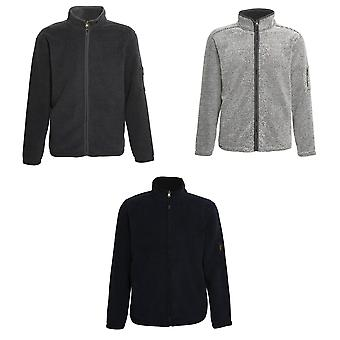 Moda asequible para hombre Hamish cremallera chaqueta Jacquard