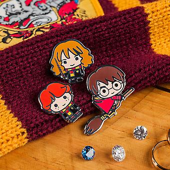 Harry Potter Enamel Pin Badges Collect the Magic of Harry Ron and Hermione