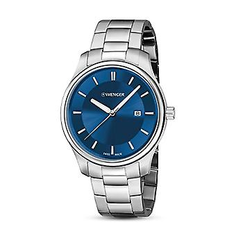 Wenger ladies Quartz analogue watch with stainless steel band 01.1421.106