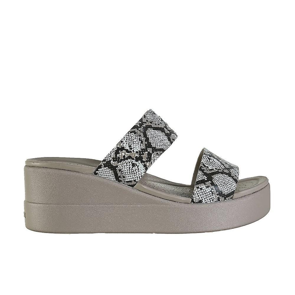 Crocs Brooklyn Mid Wedge 20621993T universal summer women shoes fbGJe