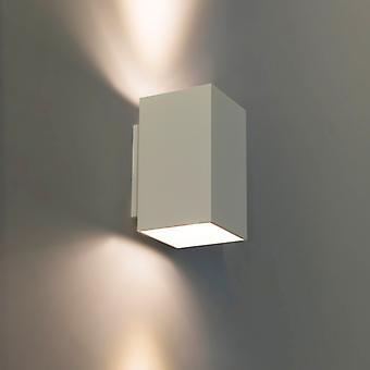 QAZQA Modern wall lamp square white - Sandy