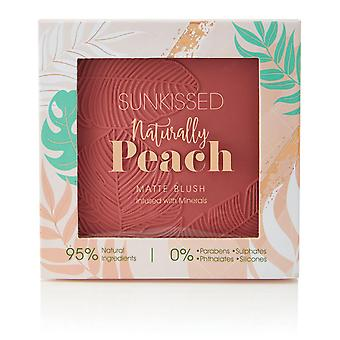 Sunkissed Naturally Peach 95% Natural - 18.8g Blusher