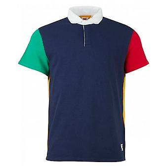 Levi's Red Tab Colour Block Rugby Polo Shirt