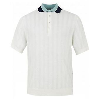 Paul Smith Knit Cotton Contrast Collar Polo Shirt
