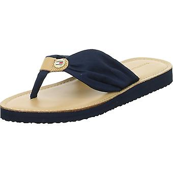Tommy Hilfiger Lederen Voetbed Beach FW0FW00475DW5DESERTSKY universele zomer dames schoenen