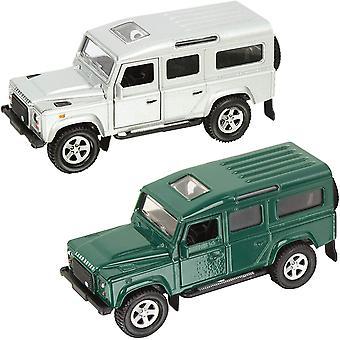 Teamsterz Die-cast 4x4 Defender | Kids Metal Toy Farm Vehicle