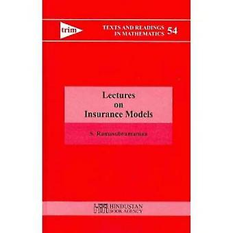 Lectures on Insurance Models by S. Ramasubramanian - 9788185931937 Bo
