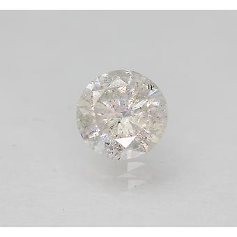 Certified 0.51 Carat G SI2 Round Brilliant Enhanced Natural Loose Diamond 5.05mm