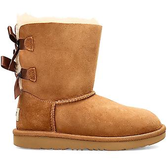 UGG Bailey Bow 1017394KCHESTNUT universal winter kids shoes