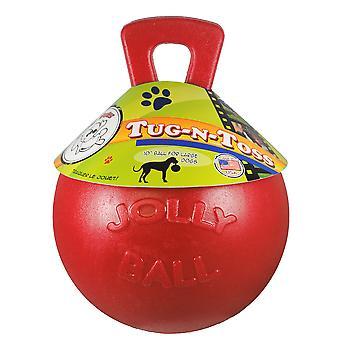 Jolly Pet Ball Tug-N-Toss 10  Rojo (Dogs , Toys & Sport , Balls)