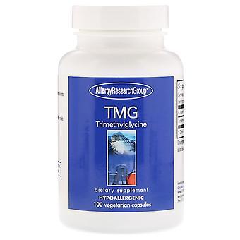 TMG trimethylglycine 100 vegetarische capsules-allergie onderzoeksgroep