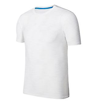 Allthemen Men's Round Neck Thin Sports Casual Short-Sleeved T-Shirt