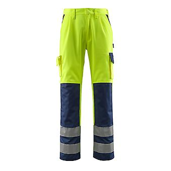 Mascot olinda hi-vis work trousers 07179-470 - safe compete, mens -  (colours 2 of 2)