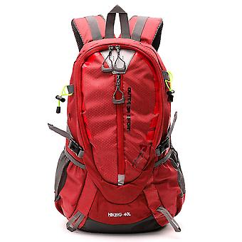 Waterproof travel backpack for hiking climbing camping mountaineering cycling 40l