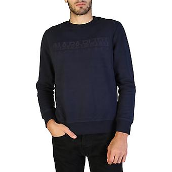 Homme coton long sweat-shirt rond t-shirt haut n17751
