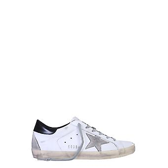 Golden Goose Gwf00102f00031810220 Women's White Leather Sneakers