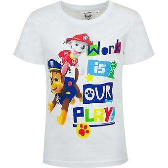 Paw patrouille jongens t-shirt marshall chase