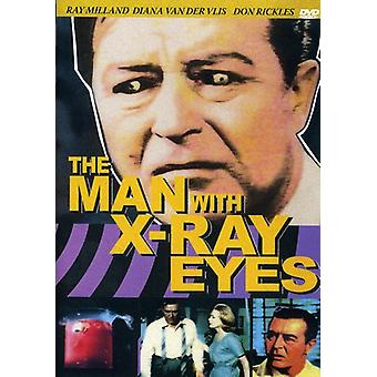 Man with the X-Ray Eyes [DVD] USA import