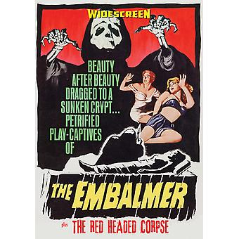 Embalmer / Red Headed Corpse [DVD] USA import