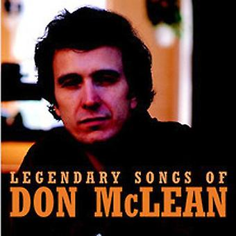 Don McLean - Legendary Songs of Don McLean [CD] USA import