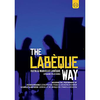 Labeque, Katia & Marielle - Labeque Way [DVD] USA import