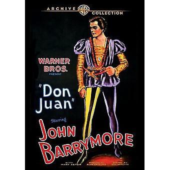 Don Juan [DVD] USA importerer