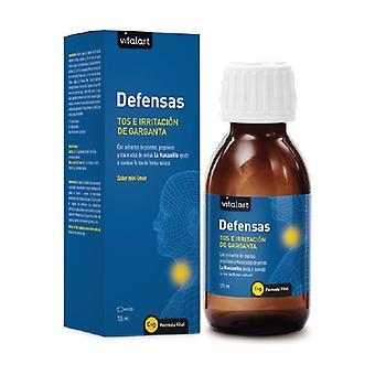 Defenses Cough and Throat Irritation 125 ml