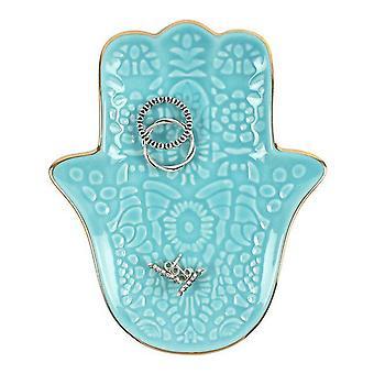 Coś innego turkus ręka Fatimy Biżuteria danie