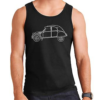 Citro?n Vintage 2CV Art Men's Vest