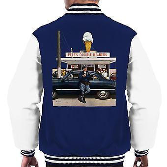 The Saturday Evening Post Ice Cream Policeman Men's Varsity Jacket