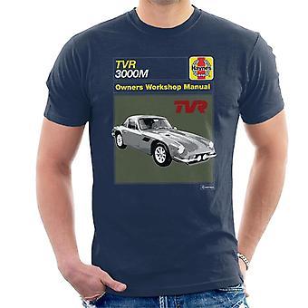 Haynes TVR 3000M 1970 workshop manuaalinen miehet's t-paita