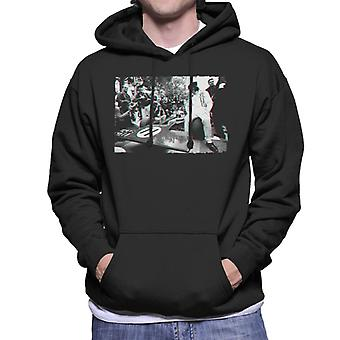 Motorsport Images Jackie Stewart Tyrrell 003 Pre Race Men's Hooded Sweatshirt