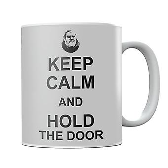 Hodor Keep Calm And Hold The Door Game Of Thrones Mug
