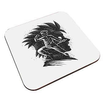 Gogeta inking fuusio hyökkäys dragon ball z coaster
