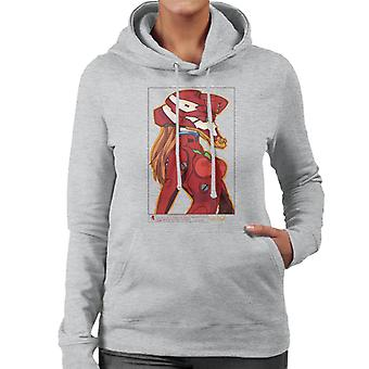 Einheit 02 Neon Genesis Evangelion Frauen's Kapuzen-Sweatshirt