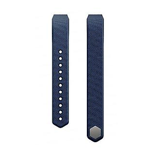 Hellfire Trading Replacement Wristband Bracelet Band Strap for Fitbit Alta[Large,Navy Blue] BUY 2 GET 1 FREE