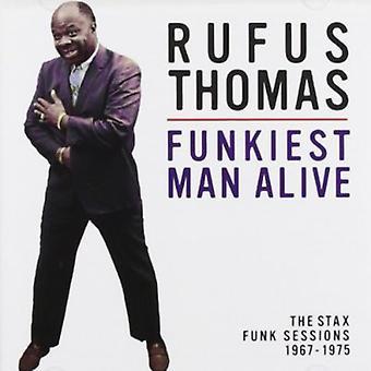 Rufus Thomas - Funkiest Man Alive: Stax Funk Sessions 1967-75 [CD] USA import