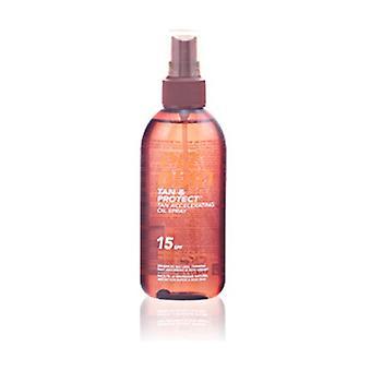 Spray de Óleo Bronzeado e Proteger Spf15 150 ml de óleo